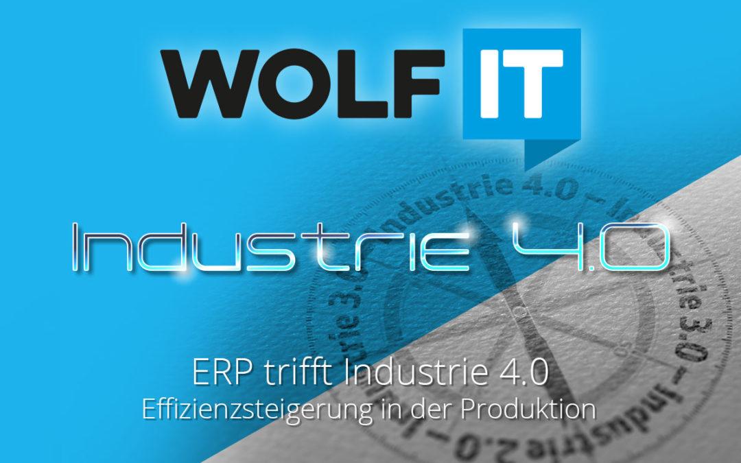 ERP trifft Industrie 4.0 – Effizienzsteigerung in der Produktion
