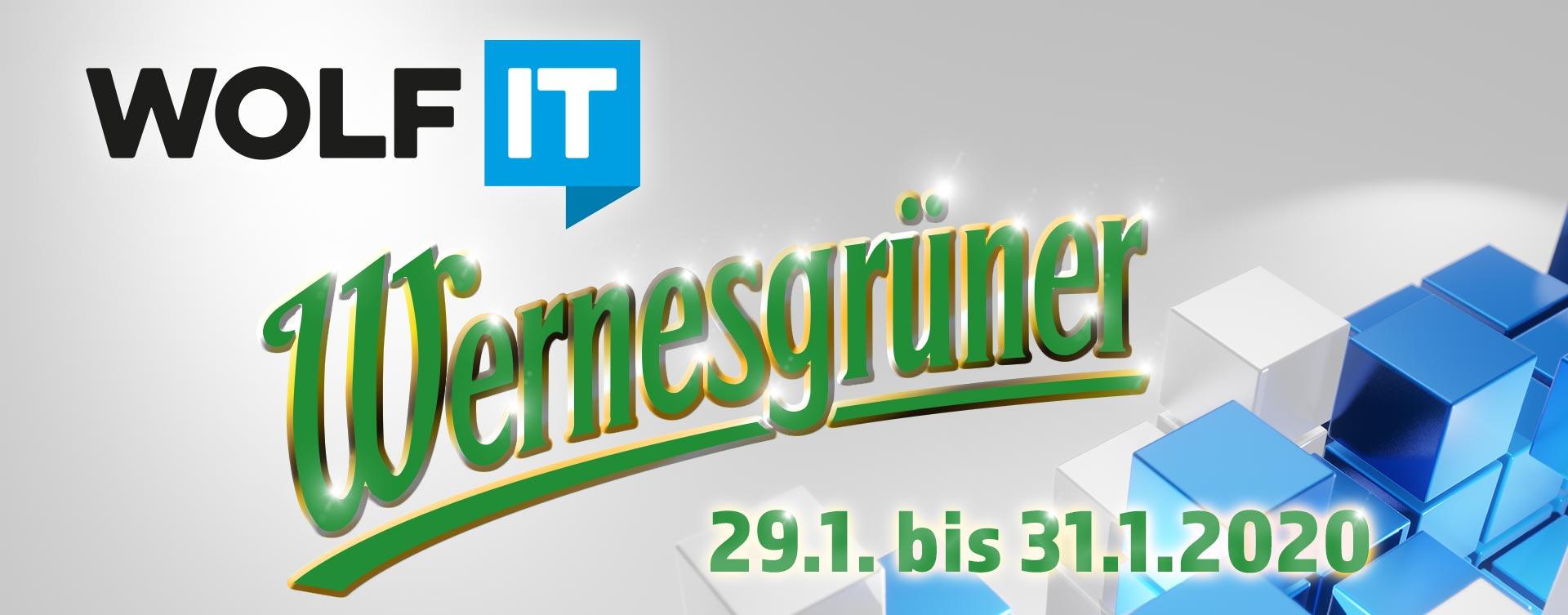 WOLF IT Wernesgrüner - 29.1. bis 31.1.2020