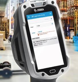 Zebra Scanner mit SmartMobile